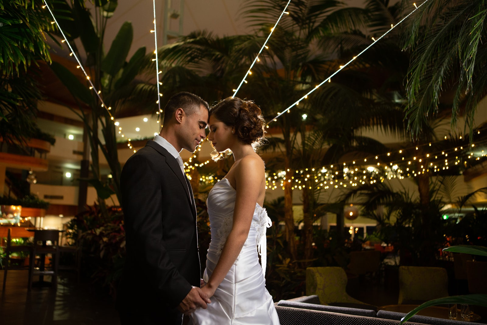 A picture of a wedding held at the Pavilion Hotel in Canberra