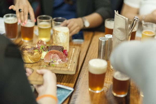 Wind down with a drink at BentSpoke Brewing Co.