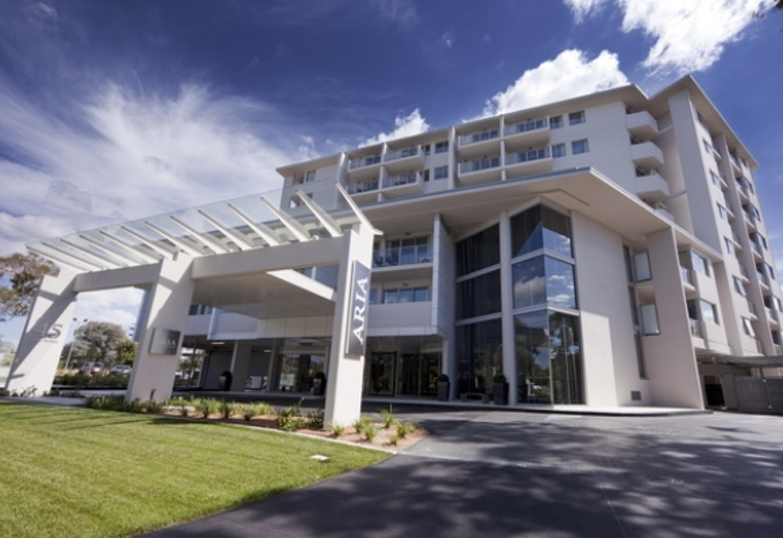 a picture of Aria Hotel based in Canberra CBD