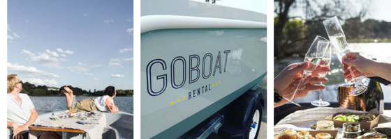 Enjoy a romantic adventure aboard a GoBoat