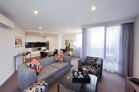 Picture of a room in the Aria Hotel located in Dickson, Canberra