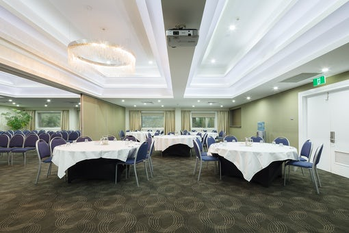 A picture of the conference facilities available at the Pavilion on Northbourne