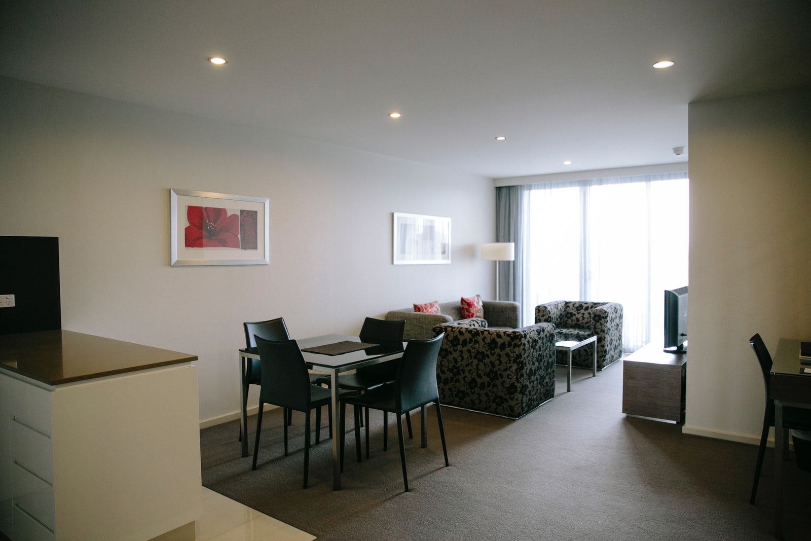 An image of a dinning room in Aria Hotels family apartment
