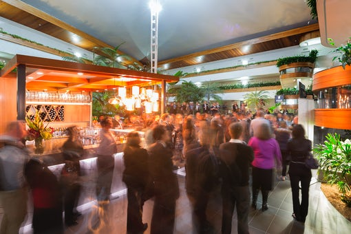 A picture of the warm dinning area at the Pavilion on Northbourne located in Canberra CBD