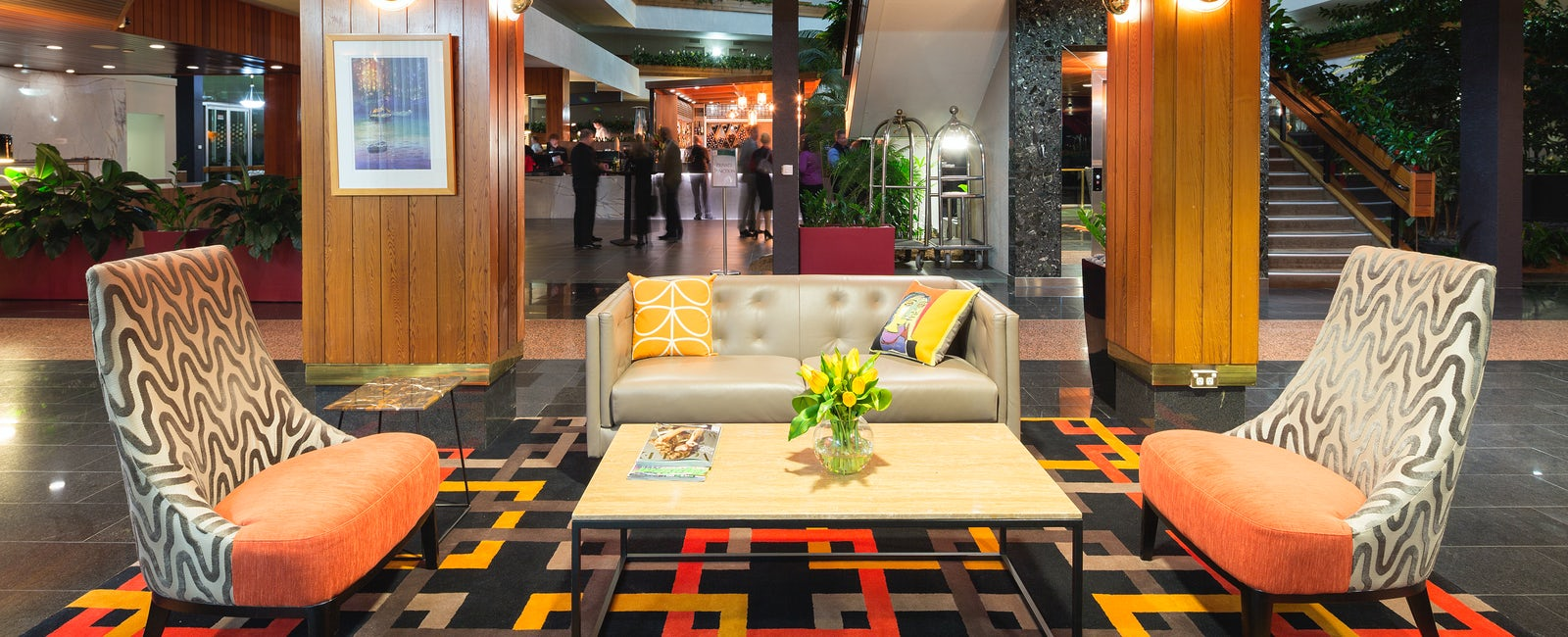 A Picture of the waiting area at the Pavilion on Northbourne Canberra CBD