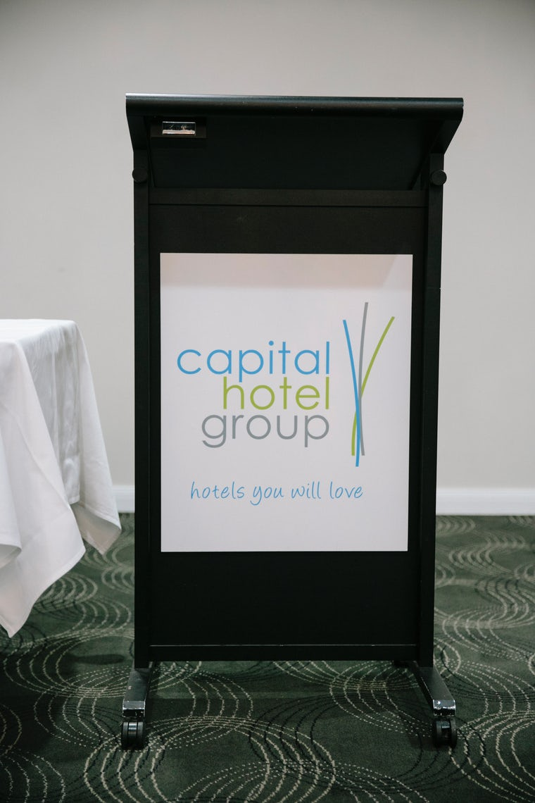 Picture of capital hotel group canberra sign