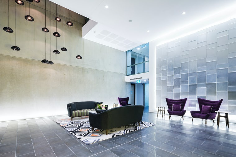 Picture of the hotel meeting area at the Avenue Hotel in Braddon