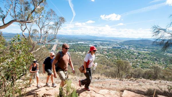 Visit Canberra - Mount Ainslie Hike