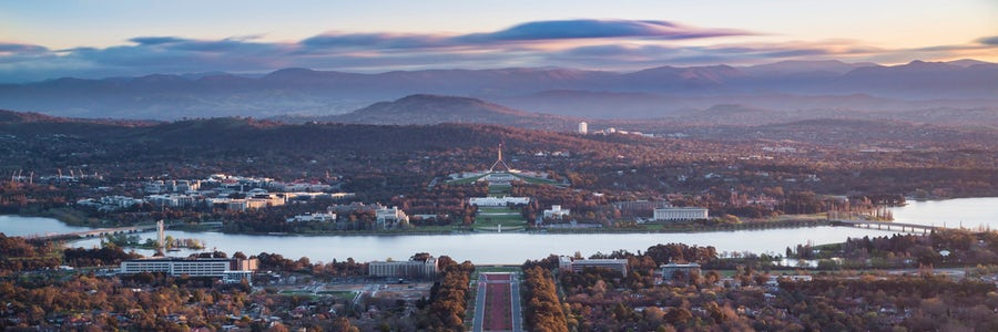 Hike Mount Ainslie for the best views of Canberra