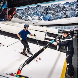 perfect for beginners, ski or board at Vertikal Indoor Snow