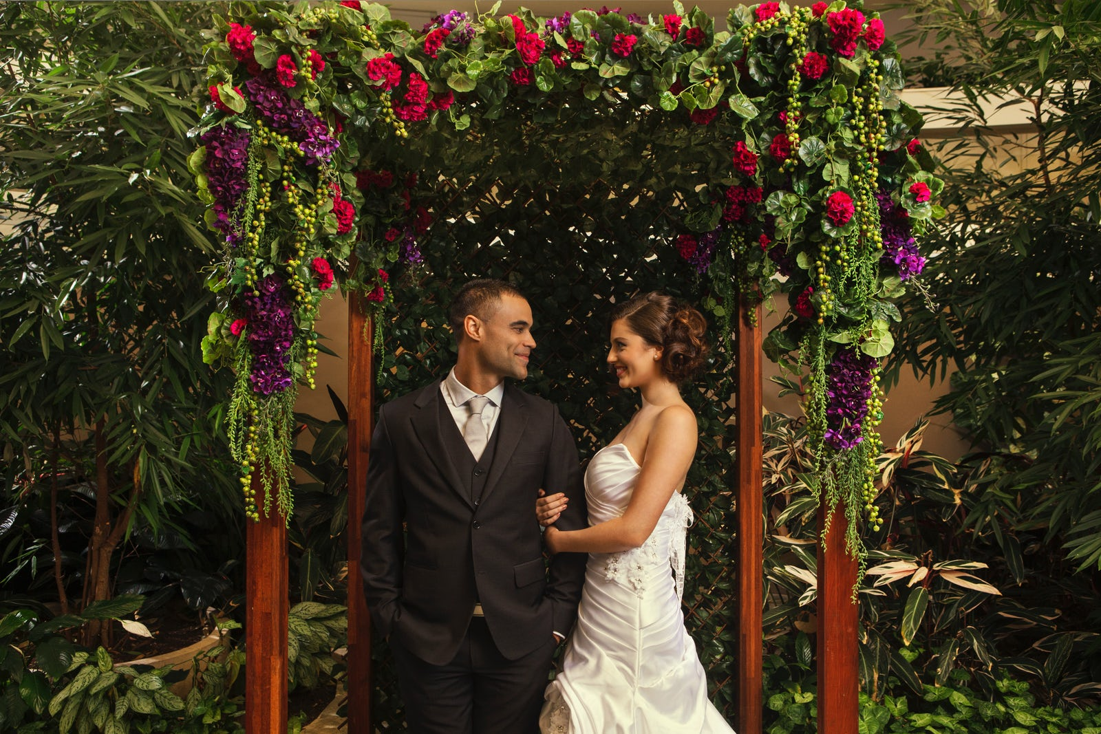 Picture of a couple at a wedding at Pavilion on Northbourne