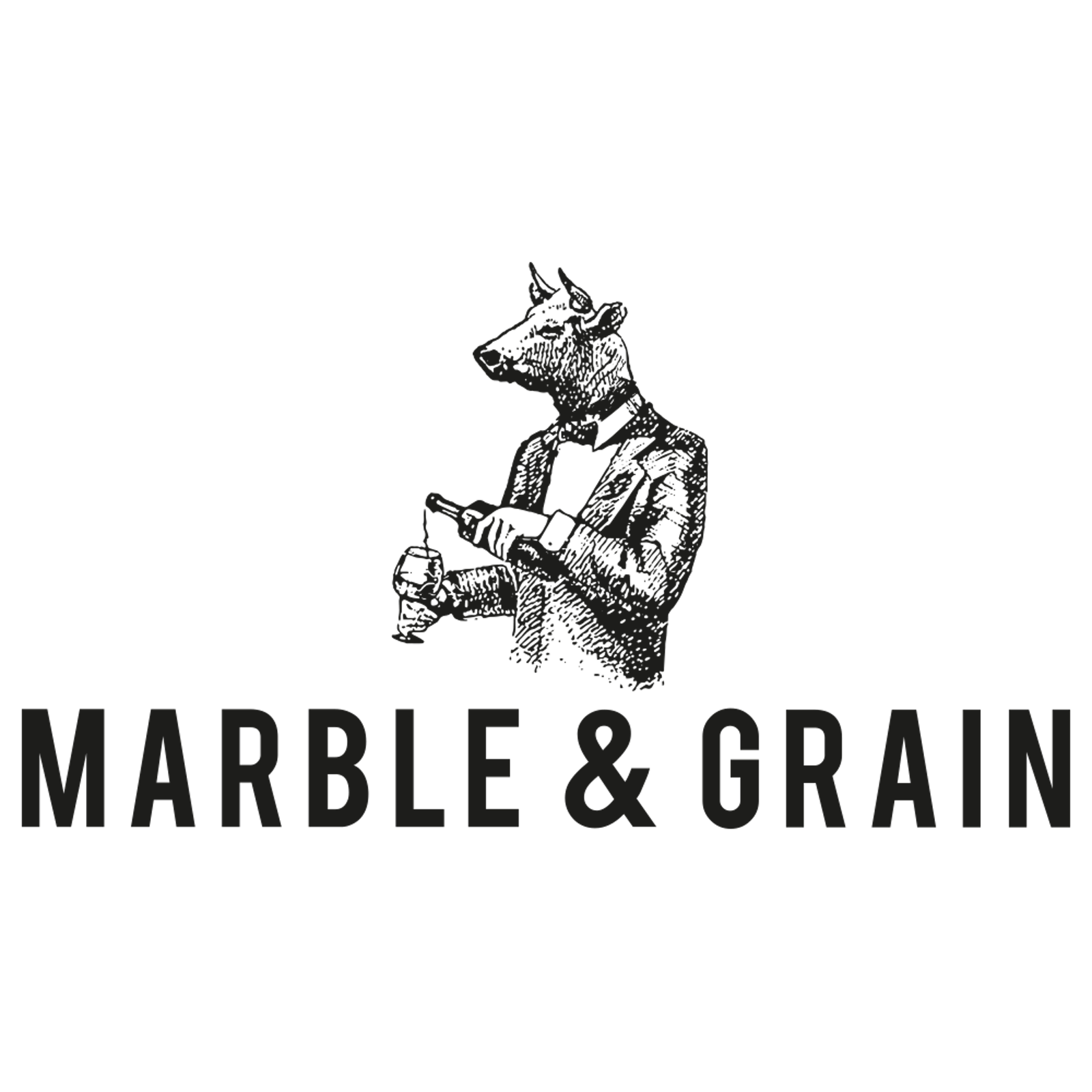 Marble and Grain Logo